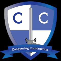 Conquering Construction Logo